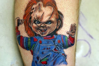 Tatuaje de Chucky