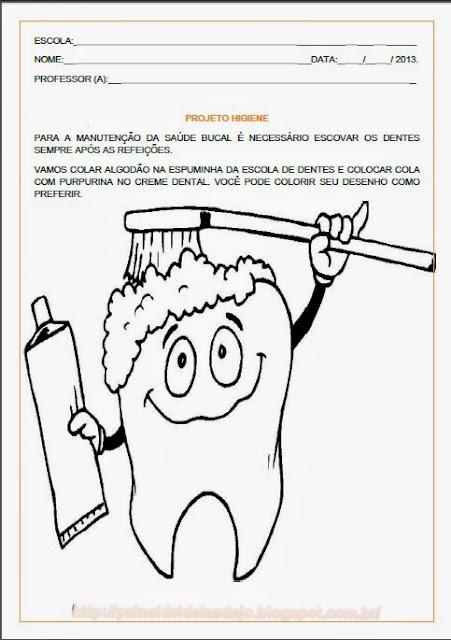 Projetos sobre Higiene para educação infantil
