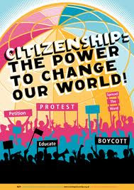 poster good citizenship can change the world