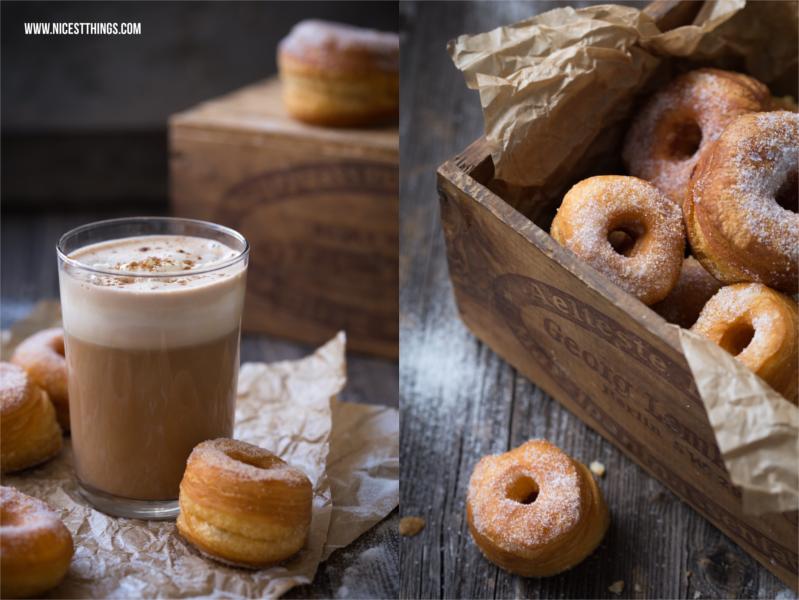 schnelles und einfaches Cronut Rezept, Cronuts selber machen