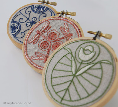 japanese hand embroidery patterns by SeptemberHouse