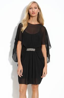 Robe noire invitee mariage