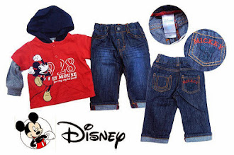 Clearance Stock : RM40 - Set 2pcs Brand Disney