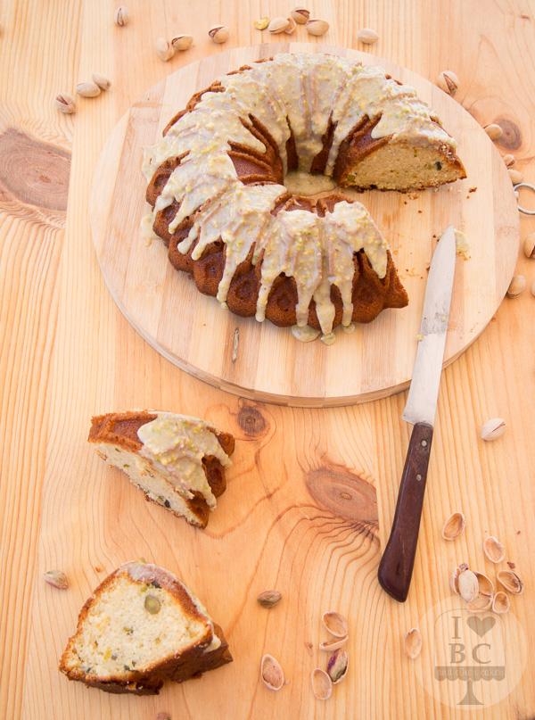 Pistachio Buttermilk Bundt Cake