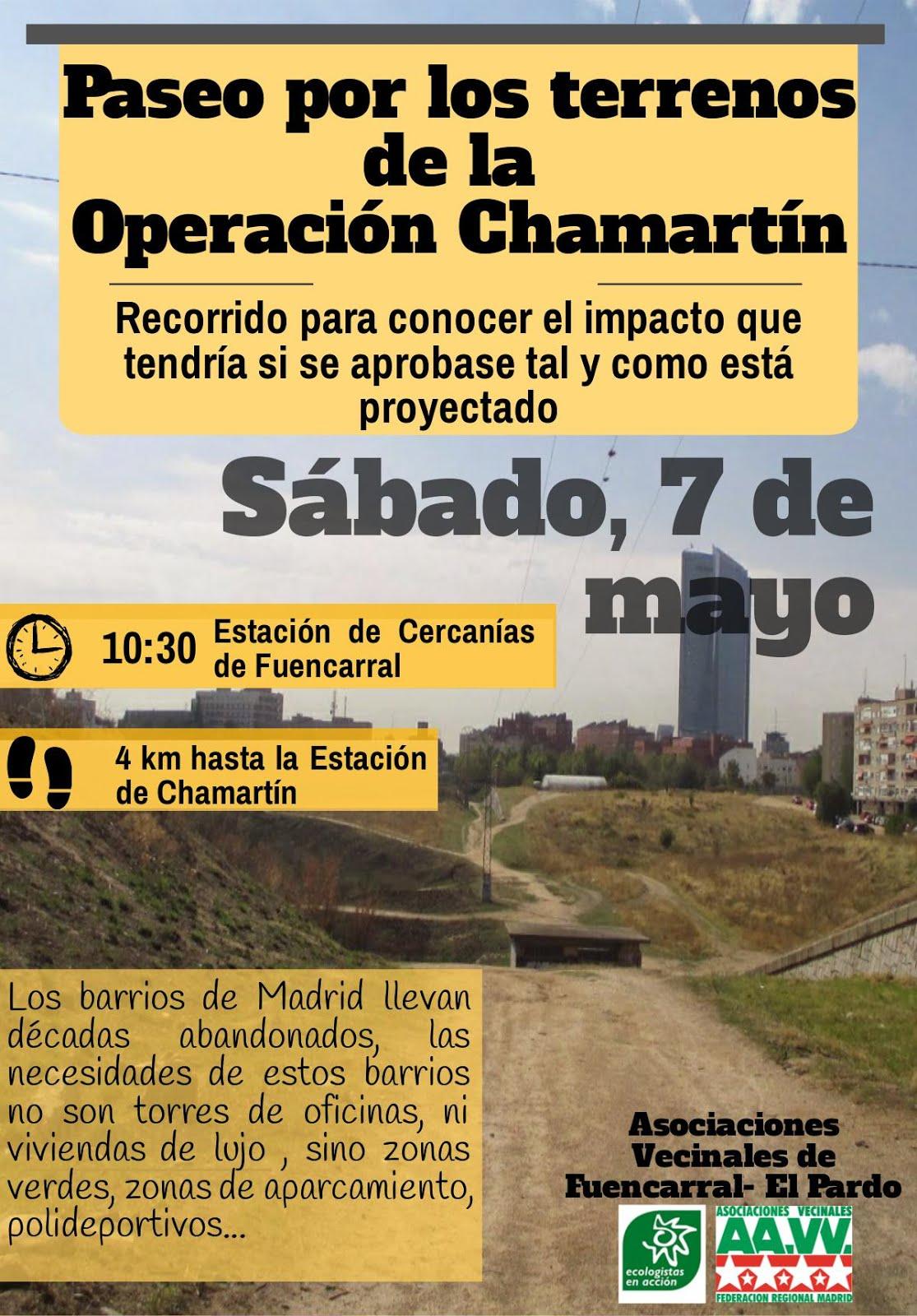 7 mayo Operación Chamartín