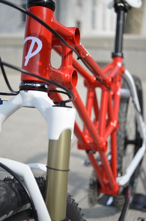 The Pelagro PB1 - Un cuadro hecho de otros cuadros de bicicletas ...