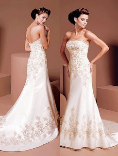 fotos de vestidos longos para noivas