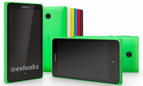 Chân dung điện thoại Nokia chạy Android