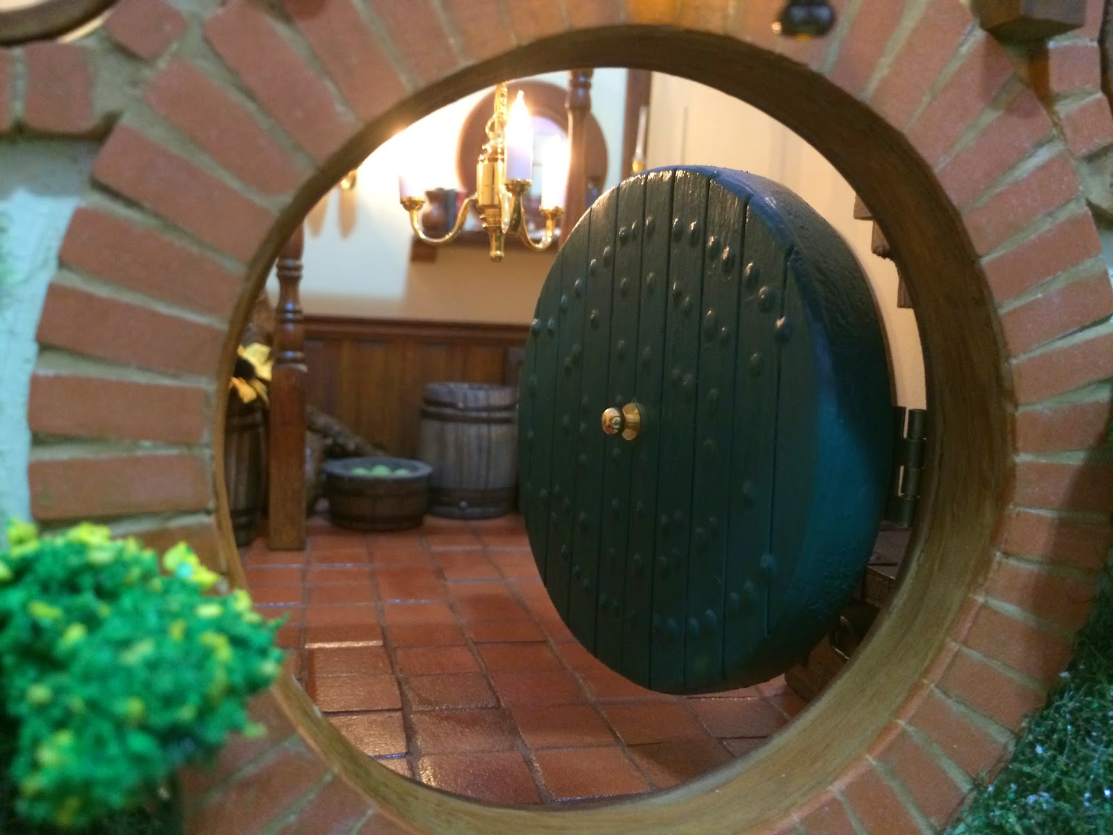 My Hobbit Hole Bag End Front Door
