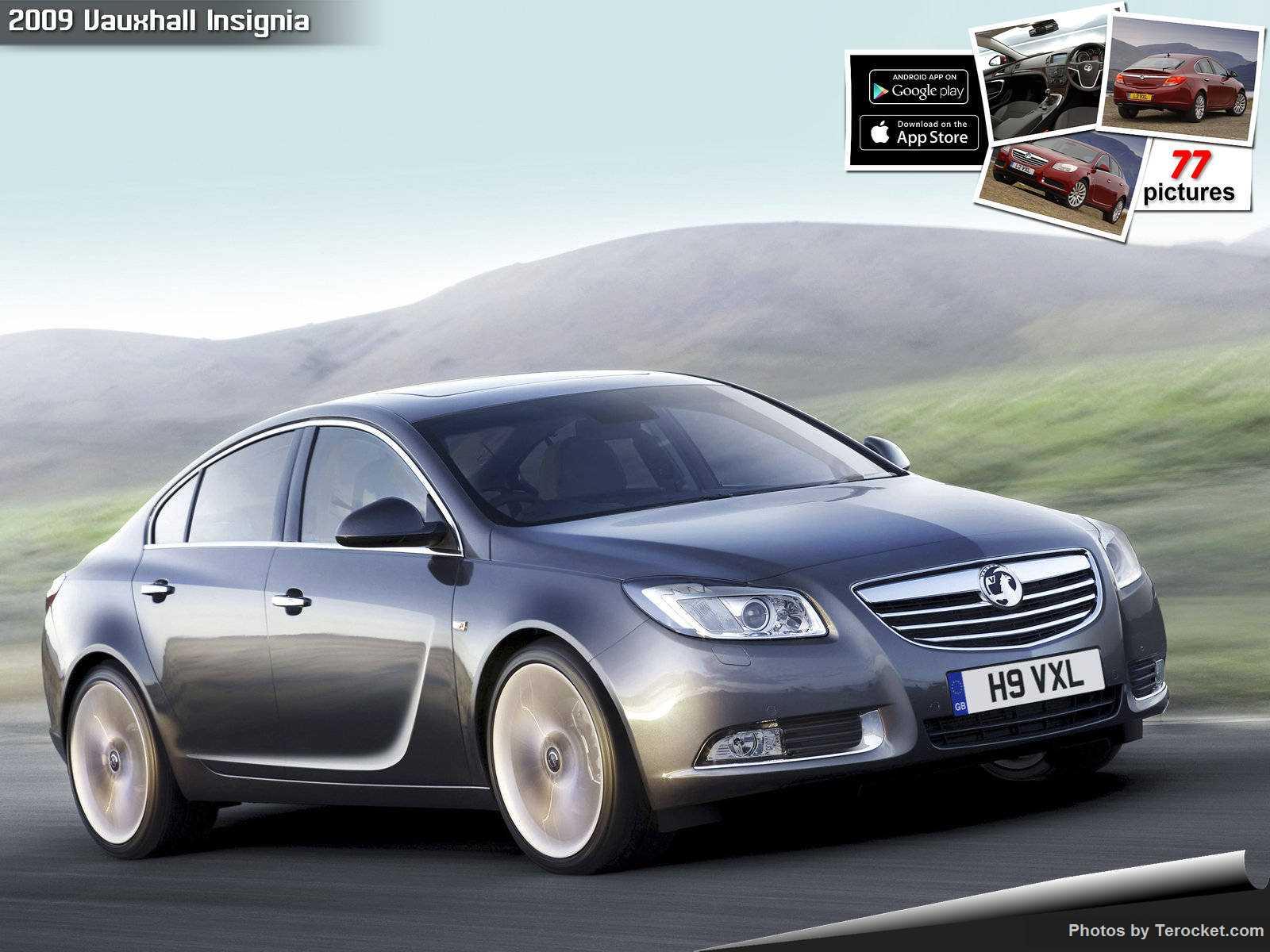 Hình ảnh xe ô tô Vauxhall Insignia 2009 & nội ngoại thất