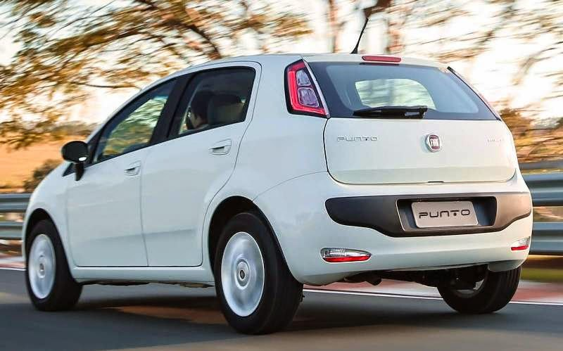 Fiat Punto 2015 hatch premium mais vendido do Brasil