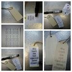 DIY houten label
