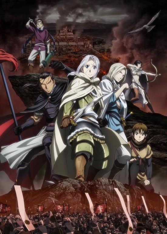 Nuevo trailer y seiyuus del anime Arslan Senki de Hiromu Arakawa