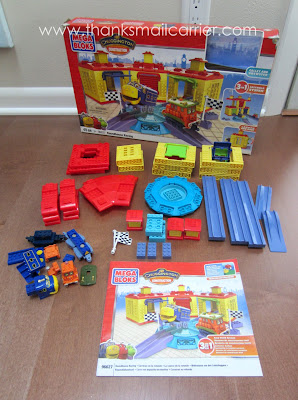 Mega Bloks Chuggington Roundhouse Racing