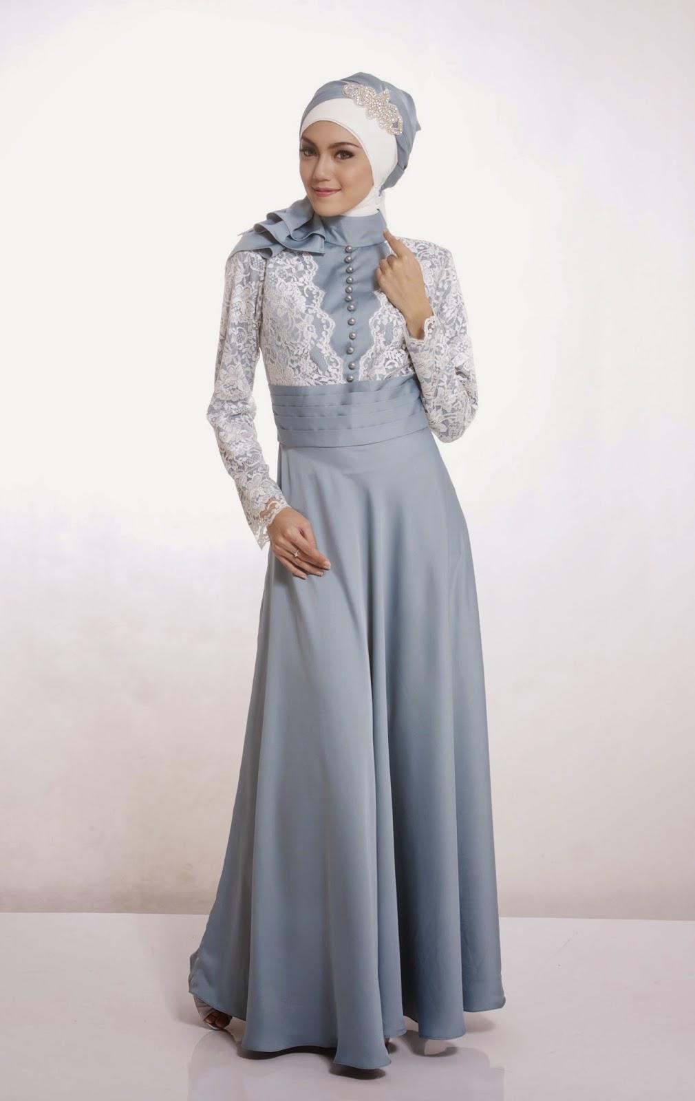 Contoh Baju Pesta Muslim Model Baru