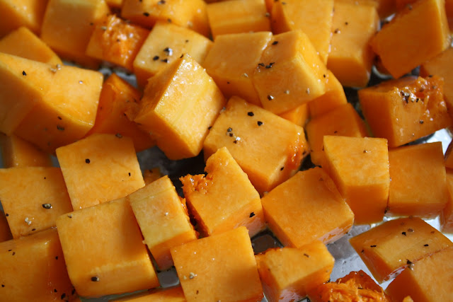 Ina Garten Butternut Squash sparrows & spatulas: ina's roasted butternut squash salad with