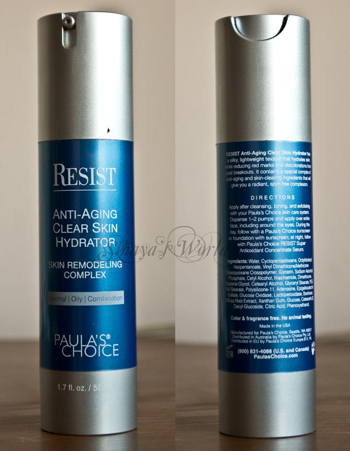 paula's choice clear skin hydrator