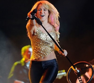 Shakira on stage image