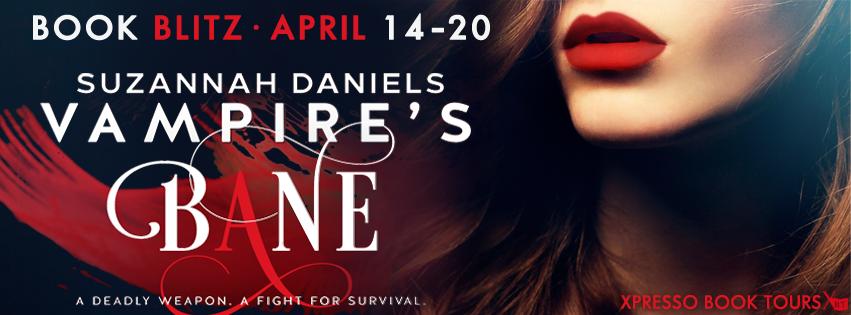 Book Blitz: Vampire's Bane by Suzannah Daniels + Giveaway (US & INT)