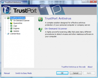 TrustPort Antivirus USB Edition 2012: Portable Antivirus and Antispyware Protection for your USB Flash Drive