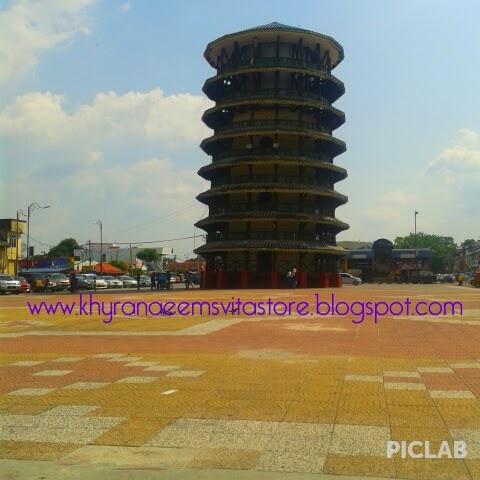 Menara Jam Condong Teluk Intan