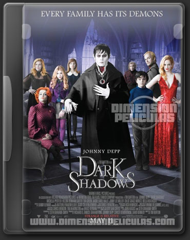 Dark Shadows (BRRip HD Ingles Subtitulado) (2012)