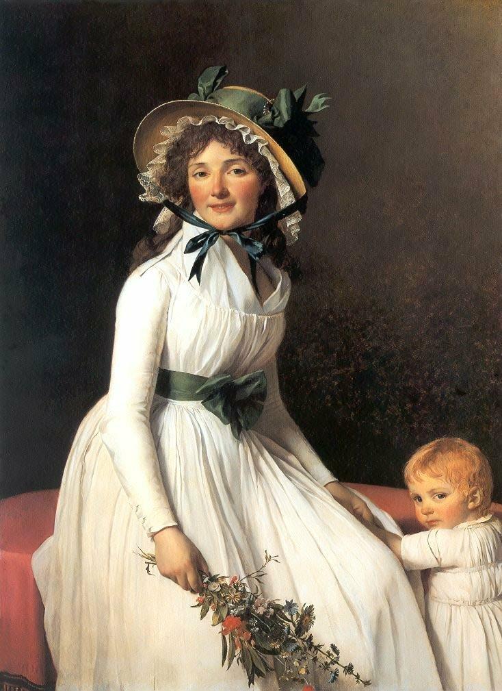 Madame Seriziat Mrs Seriziat. 1795