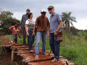 Kaiowá Guarani - Acampamento Cero'í-Visita Cimi