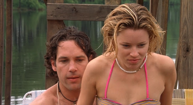 Paul Rudd and Elizabeth Banks in Wet Hot American Summer