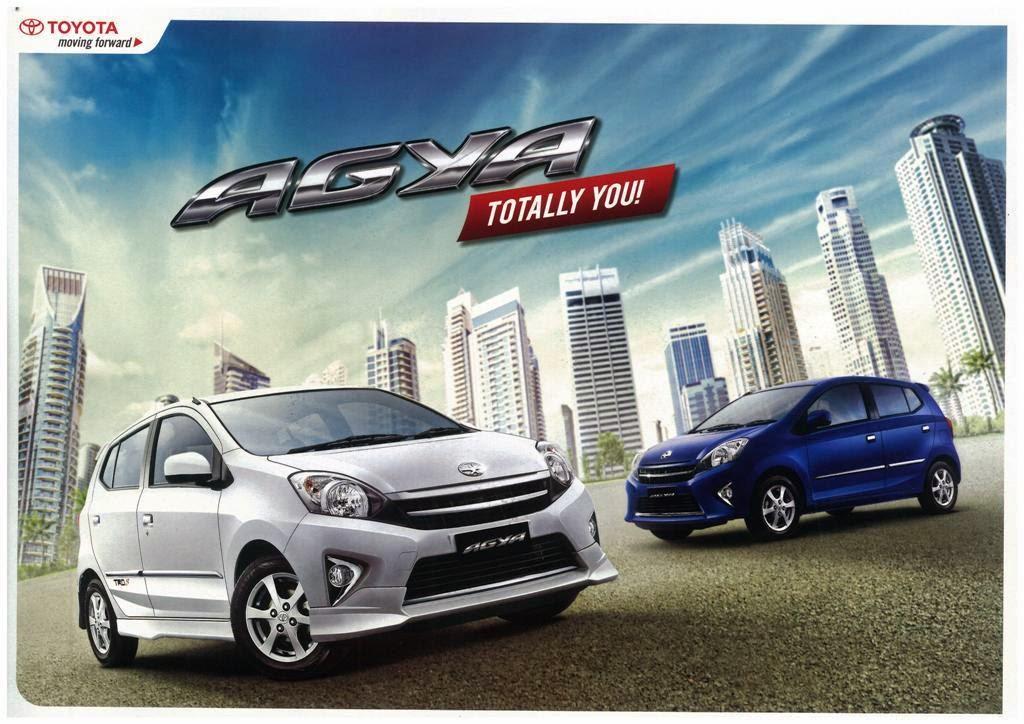 Harga Toyota Agya 2014 Terupadate