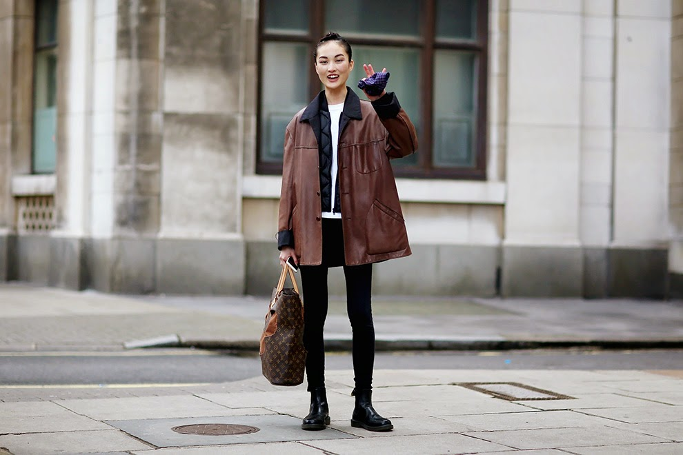 London Fashion Week Fall / Winter 15-16 Street Style