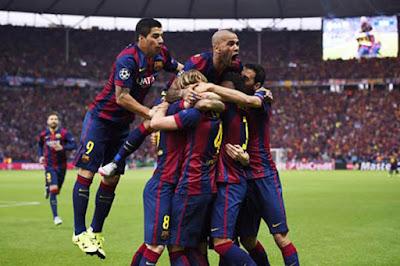 Hasil Final Liga Champion Juventus vs Barcelona Tadi Malam Dini Hari