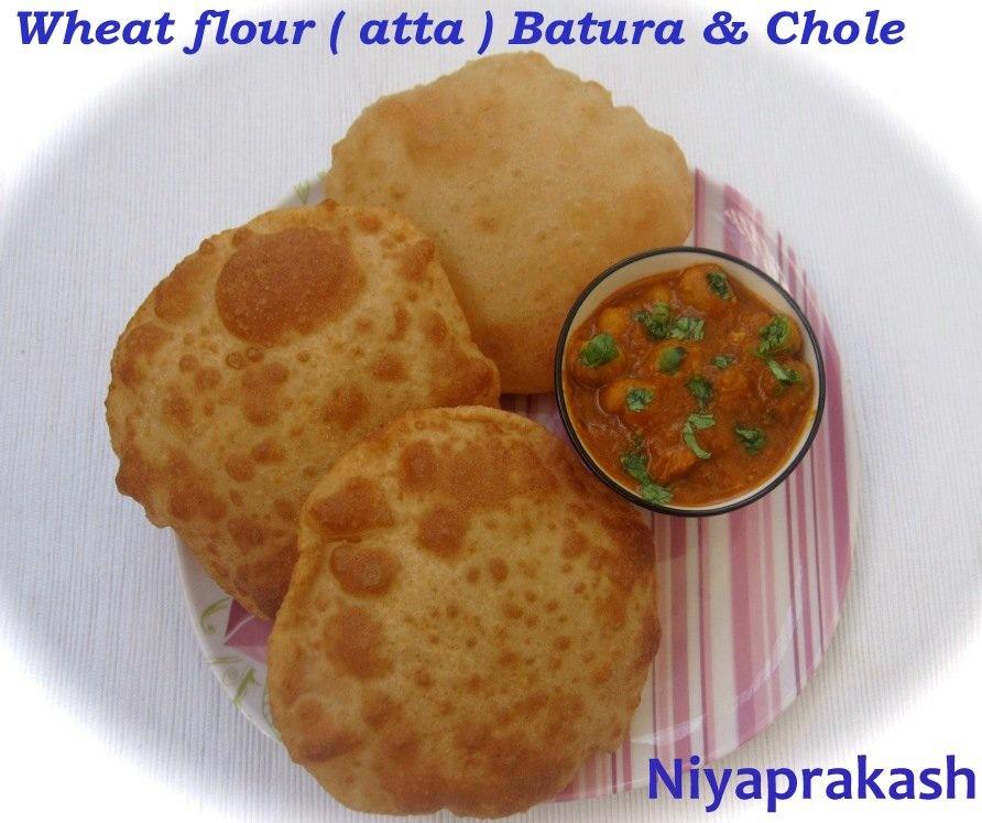 Whole wheat ( atta ) flour Batura