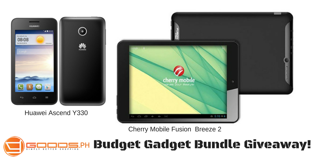 Goods.PH Budget Gadget Bundle Giveaway!