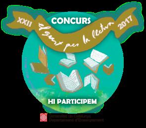 Segell de participació al concurs El Gust per la Lectura