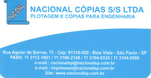 NACIONAL CÓPIAS S/S LTDA. Tel: (11) 3112 1001