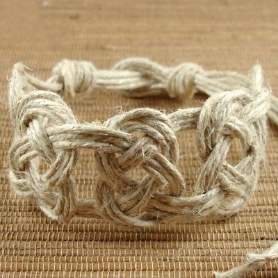 Hemp Bracelet Instructions