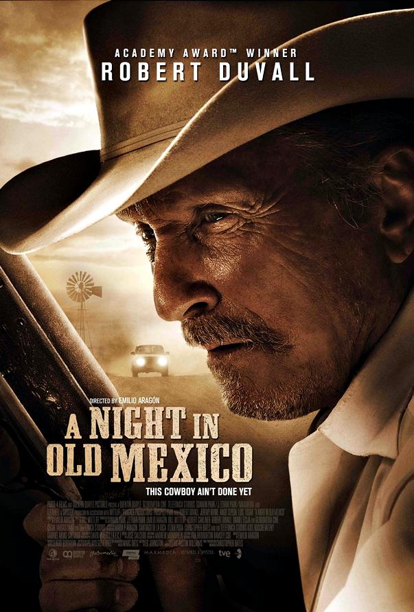 Póster de Una noche en el viejo México