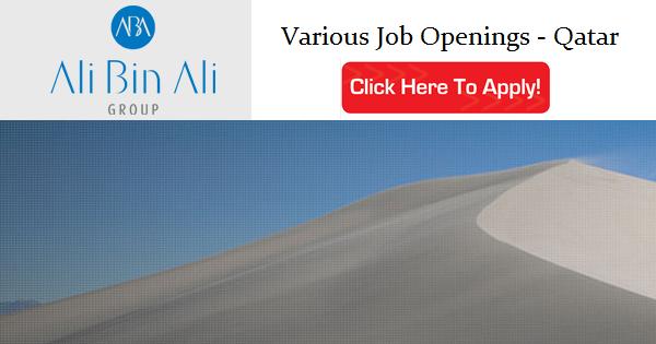 Ali Bin Ali Group Logo Ali Bin Ali Group Job Openings