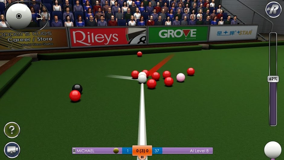 snooker computer game