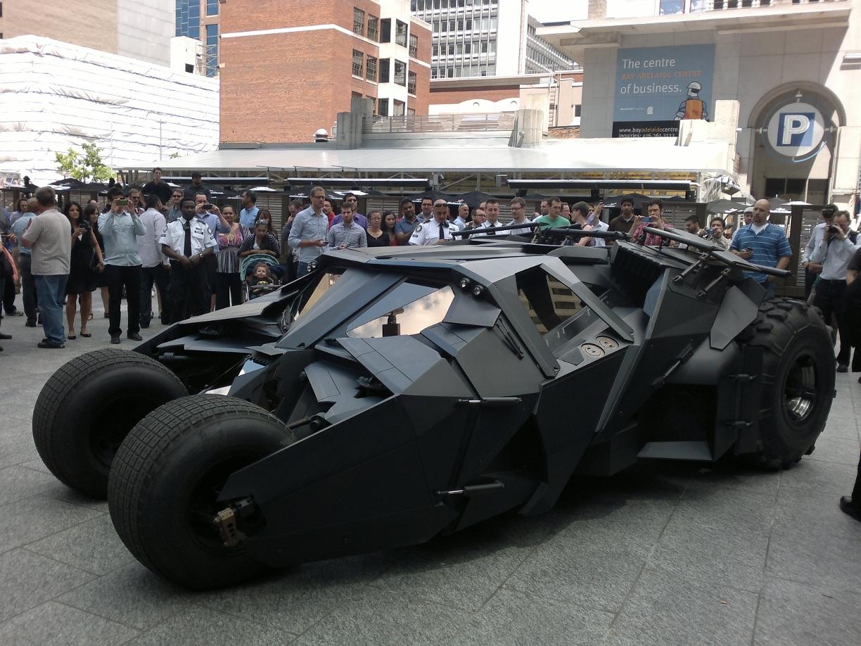 Mobashar 39 s musings the batmobile aka the tumbler