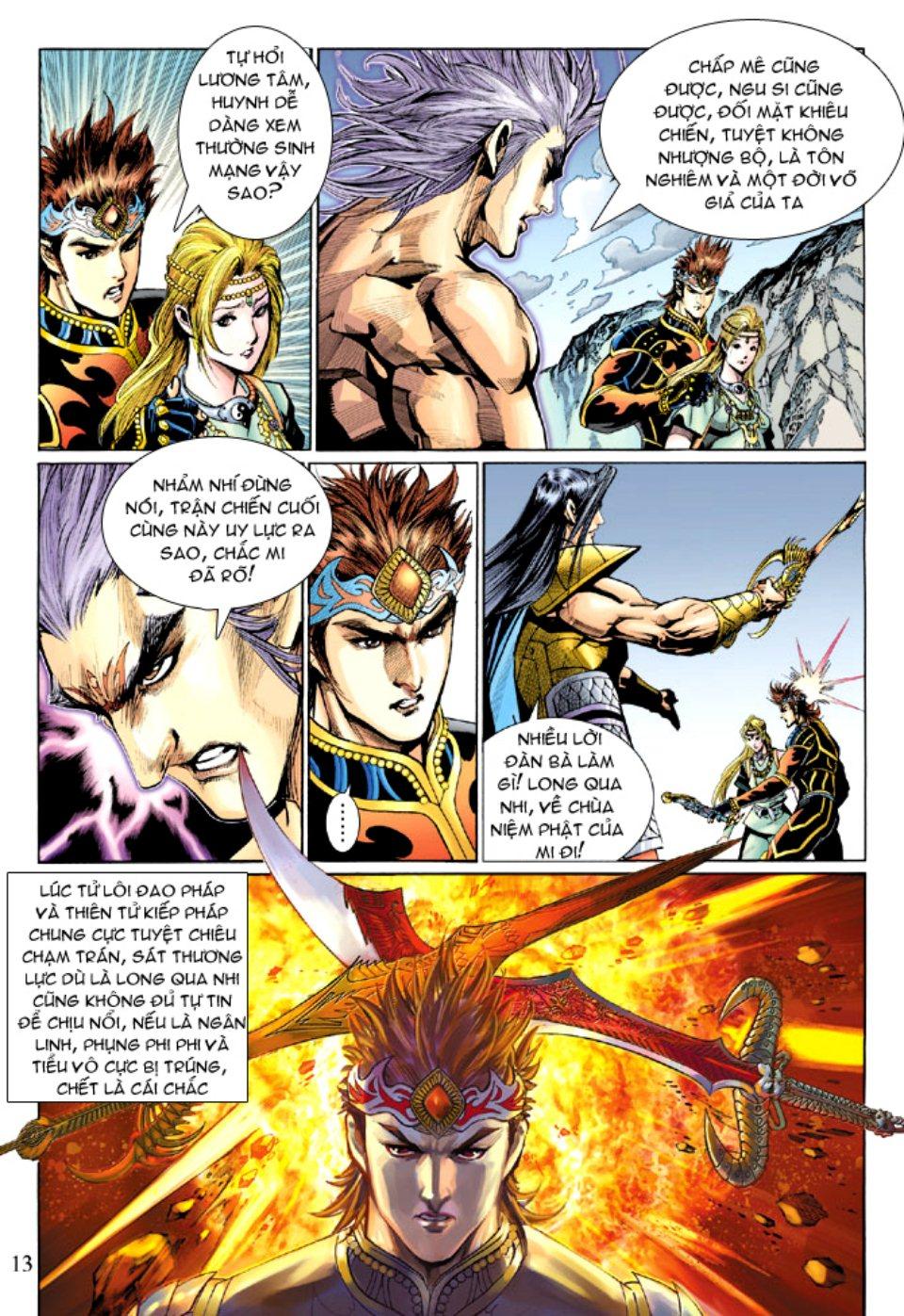 Thiên Tử Truyền Kỳ 5 - Như Lai Thần Chưởng chap 212 - Trang 13
