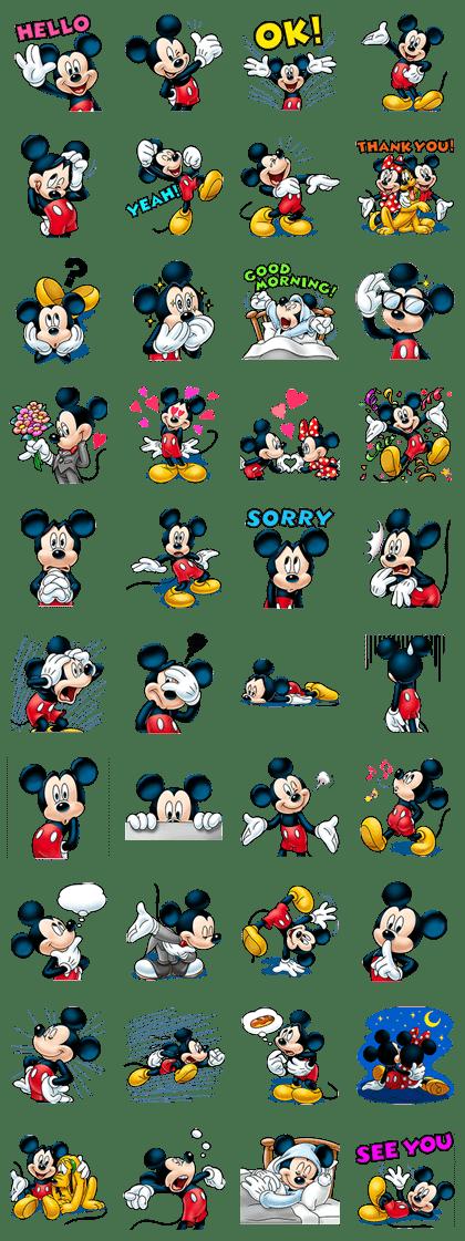 Mickey Mouse (ใบหน้าที่มีแต่รอยยิ้ม)