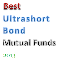 Best Ultrashort Bond Mutual Funds 2013