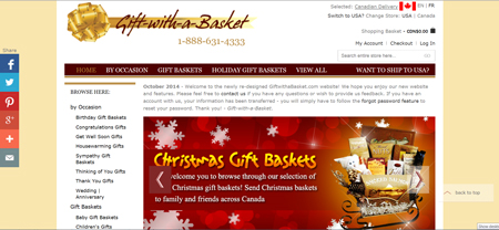 Easter gifts for 2011 gift baskets canada announcing the launch of the brand new giftwithabasket negle Choice Image
