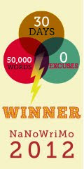 NaNoWriMo2012 Winner