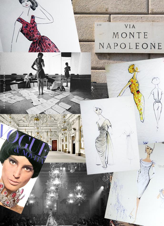 Mila Schon, fashion designer biography, editorials, show reports, quotes, trivia, collections via www.fashionedbylove.co.uk