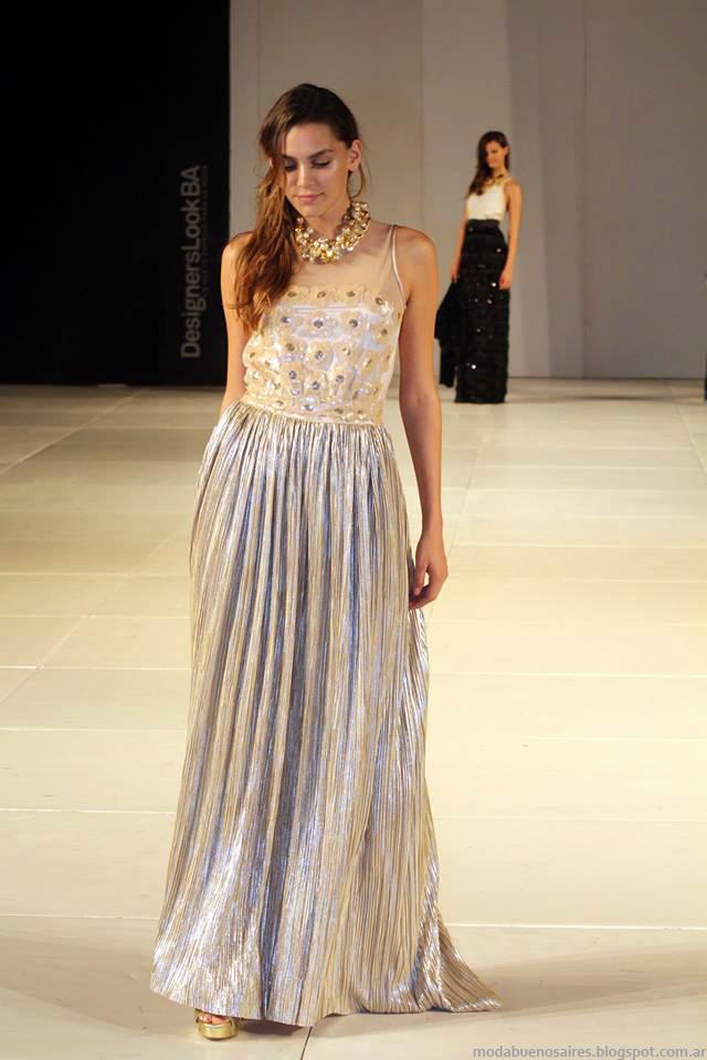 Vestidos de fiesta, vestidos de egresadas 2014, vestidos de recepción, Almendra Peralta Ramos invierno 2014.