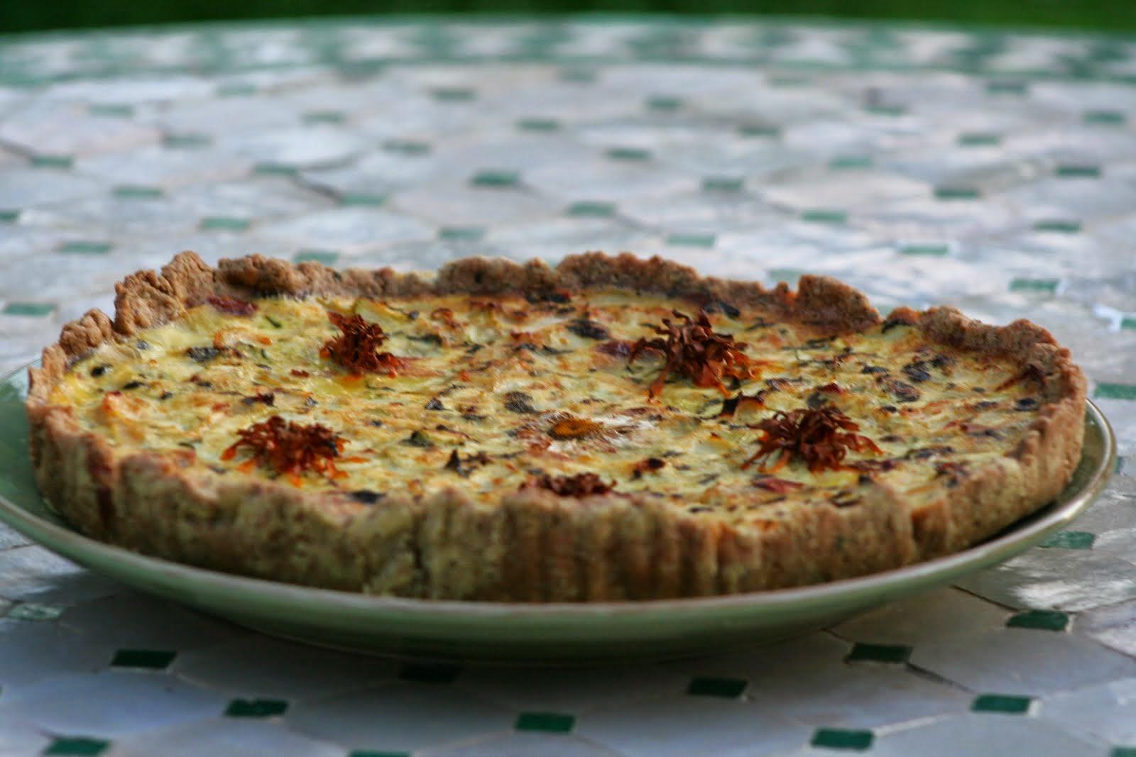 Quiche et tarte salées