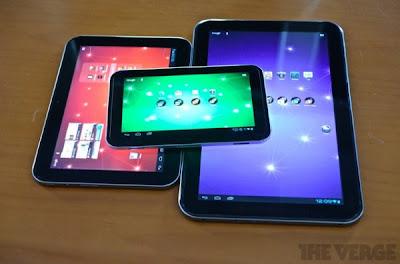 Tablet Toshiba Excite Android com 13,3 polegadas